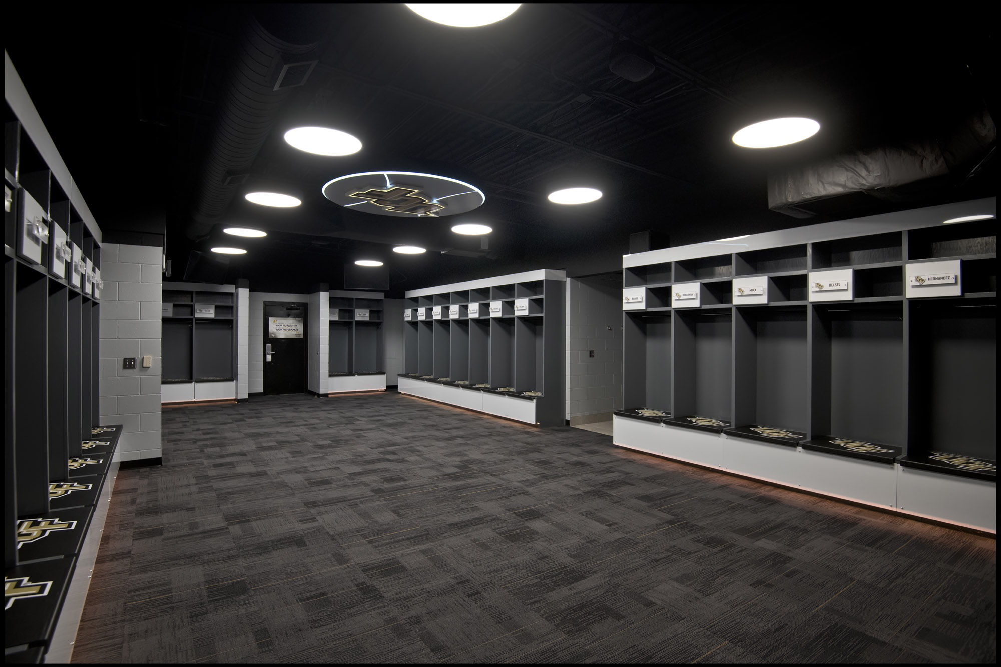 University Of Central Florida Baseball Locker Rooms Rhodes Building Company
